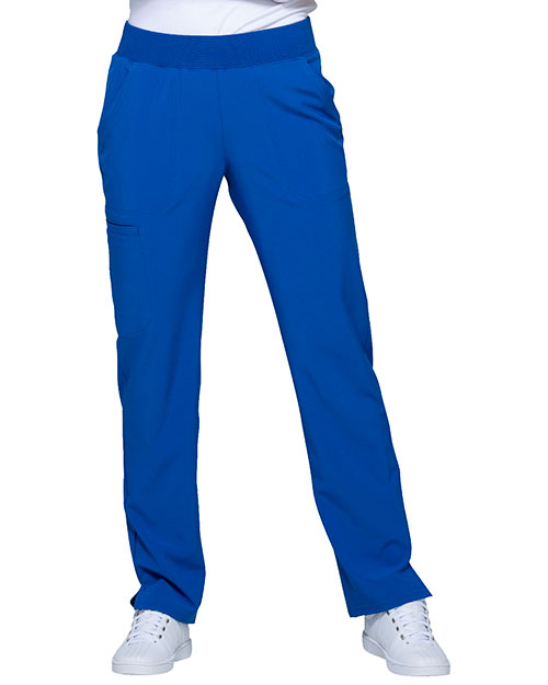 HeartSoul HS075 Women Mid Rise Tapered Leg Pant at GotApparel