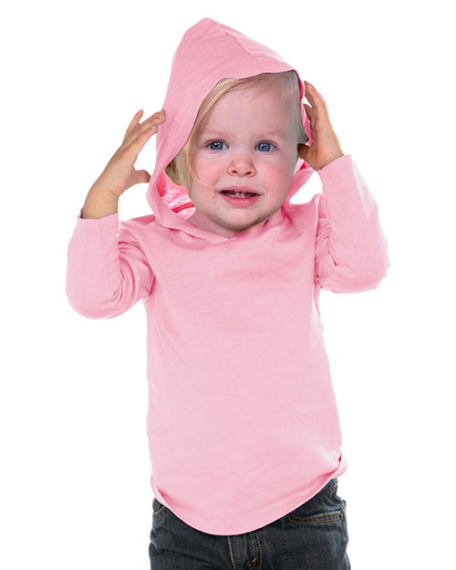 Unisex Infants Long Sleeve Pullover Hoodie at GotApparel