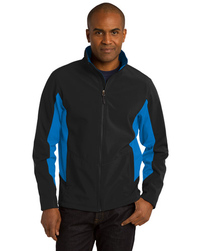 Port Authority J318 Men Core Colorblock Soft Shell Jacket at GotApparel
