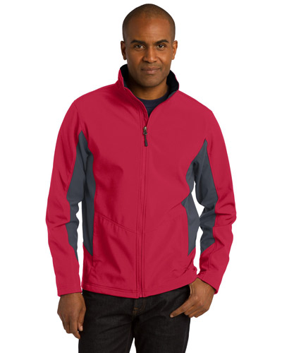 Port Authority TLJ318 Men Tall Core Colorblock Soft Shell Jacket at GotApparel