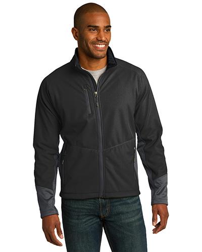 Port Authority J319 Men Vertical Soft Shell Jacket at GotApparel