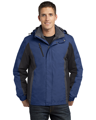 Port Authority J321 Men Colorblock 3-In1 Jacket at GotApparel