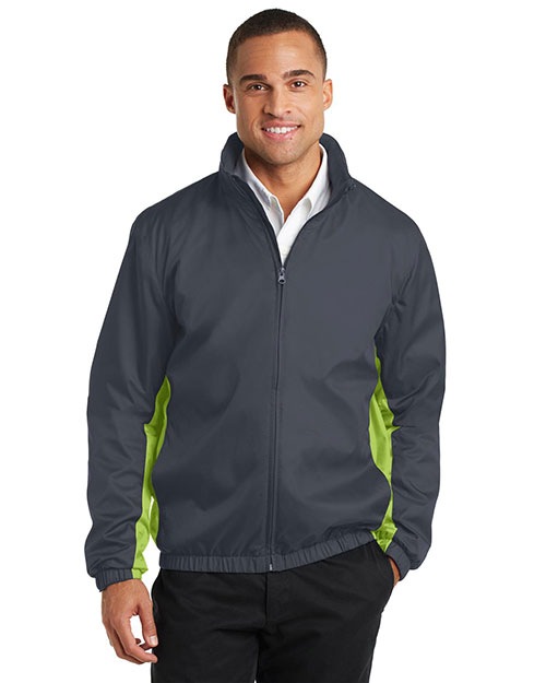 Port Authority J330 Men Core Colorblock Wind Jacket at GotApparel