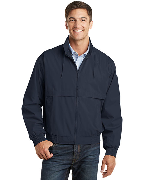 Port Authority J753 Men Classic Poplin Jacket at GotApparel