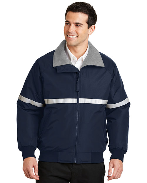 Port Authority J754R Men Challenger Jacket With Reflective Taping at GotApparel