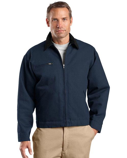 Cornerstone TLJ763 Men Tall Duck Cloth Work Jacket at GotApparel