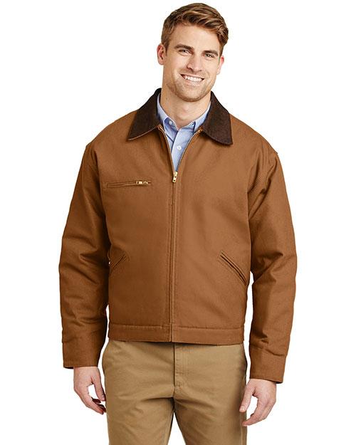 Cornerstone J763 Men Duck Cloth Work Jacket at GotApparel