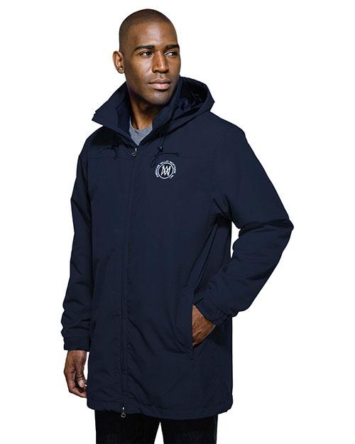 Tri-Mountain J9985 Men Rockland Fleece Jacket 3-In-1 System Hooded Parka at GotApparel
