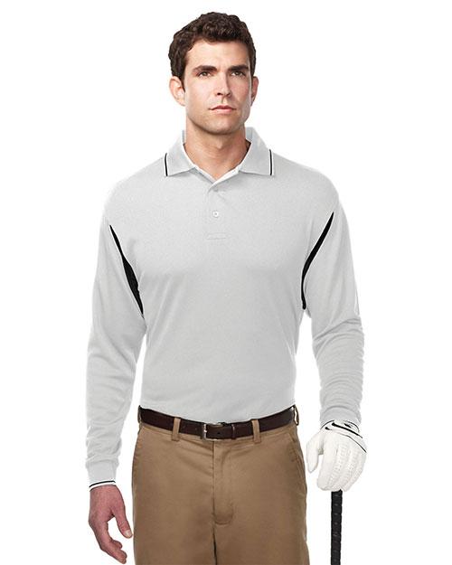TM Performance K118LS Men's Action Long-Sleeve Waffle Knit Shirt at GotApparel