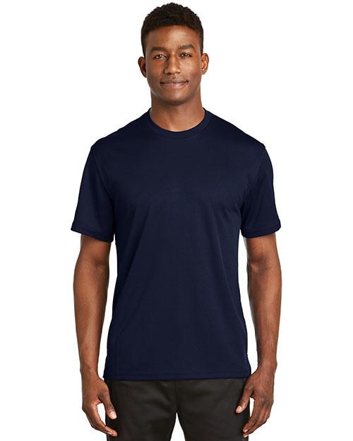 Sport-Tek K468 Men Dri Mesh Short-Sleeve T-Shirt at GotApparel