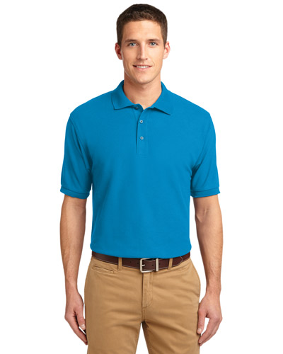 Port Authority K500ES Men Extended Size Silk Touch Polo at GotApparel
