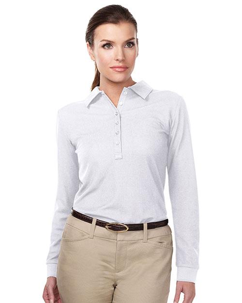 TM Performance KL103LS Women's Knit Long-Sleeve Golf Shirt at GotApparel