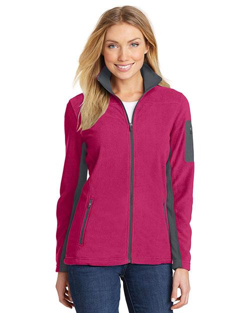 Port Authority L233 Women Summit Fleece Full-Zip Jacket at GotApparel