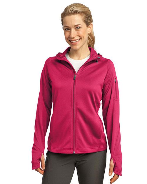 Sport-Tek L248 Women Tech Fleece Full-Zip Hooded Jacket at GotApparel