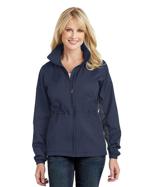 Port Authority L330 Women Core Colorblock Wind Jacket at GotApparel