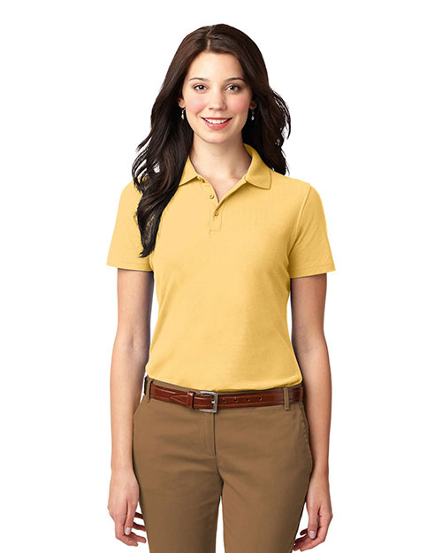 Port Authority L510 Women Stain-Resistant Polo at GotApparel