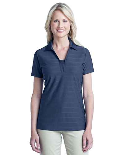 Port Authority L514 Women Horizontal Texture Polo at GotApparel