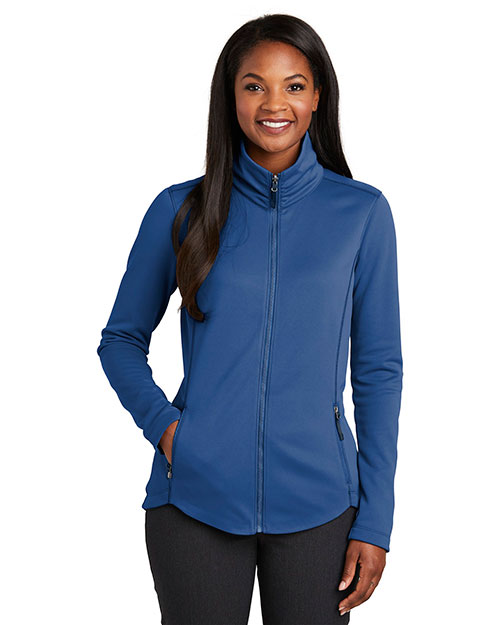 Port Authority L904 Women Smooth Fleece Jacket at GotApparel