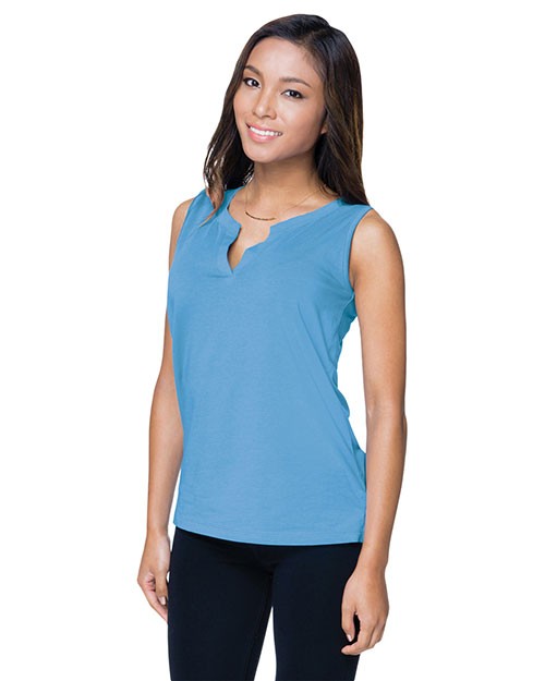 Tri-Mountain LB113 Women Lucy Jersey Sleeveless Knit Shirt at GotApparel
