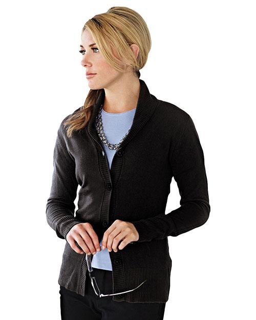 LILAC BLOOM LB924 Women Ava Long Sleeve Cardigan Sweater at GotApparel