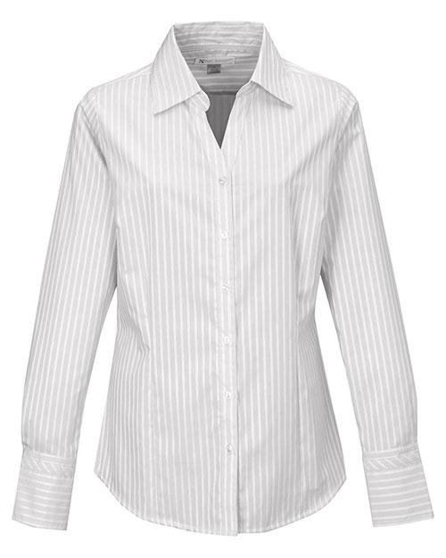 LILAC BLOOM LB970 Women Taylor Y/D Woven Shirt at GotApparel