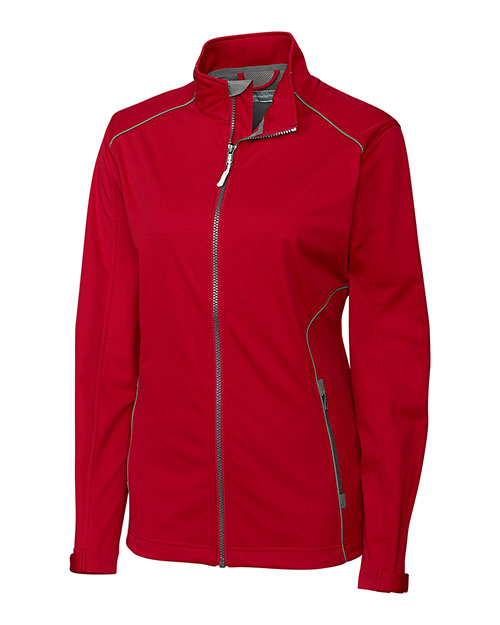 Cutter & Buck LCO01220 Women WeatherTec Opening Day Softshell Jacket at GotApparel