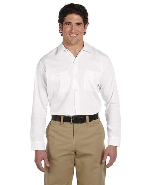 Dickies Workwear LL535 Men 4.25 Oz. Industrial Long-Sleeve Work Shirt at GotApparel