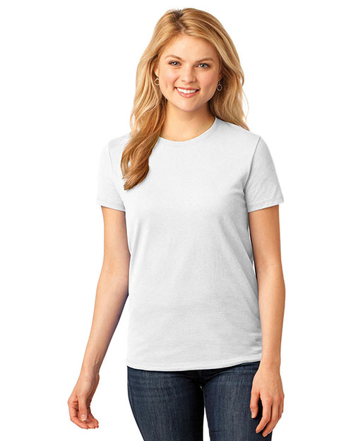 Port & Company LPC54 Women 5.4 oz 100% Cotton T-Shirt at GotApparel