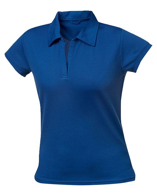 Clique New Wave LQK00007 Women Fairfax Lady Pique Mesh Polo Shirt at GotApparel