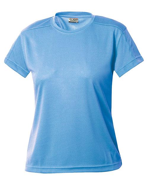 Clique New Wave LQK00023 Women Polyester Mesh T-Shirt at GotApparel