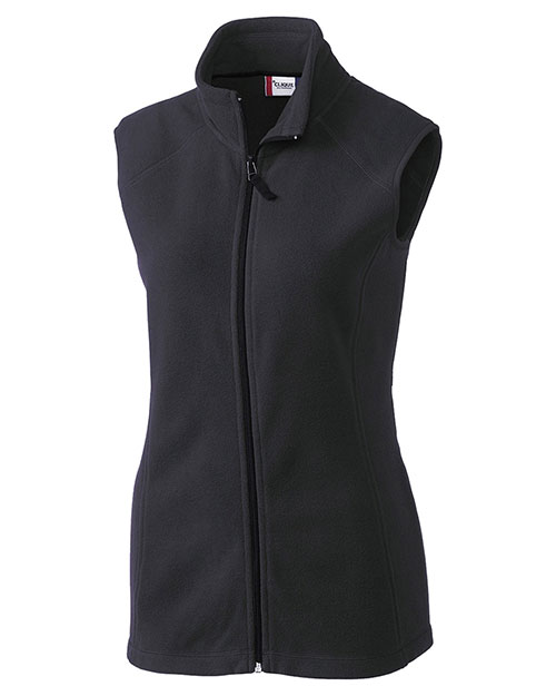 Clique New Wave LQO00017 Women Summit Lady Full-Zip Microfleece Vest at GotApparel