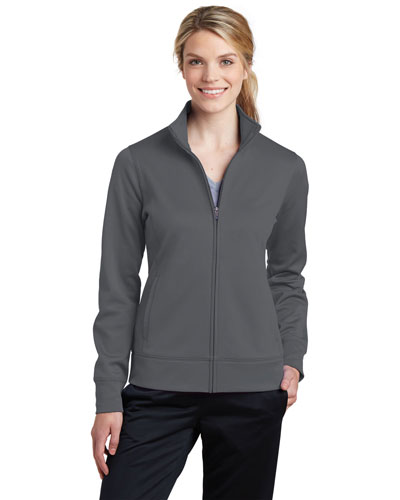 Sport-Tek® LST241 Women Fleece Full-Zip Jacket at GotApparel