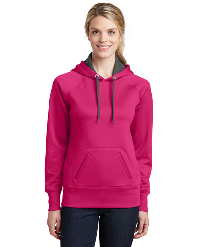 Sport-Tek® LST250 Women Tech Fleece Hooded Sweatshirt at GotApparel