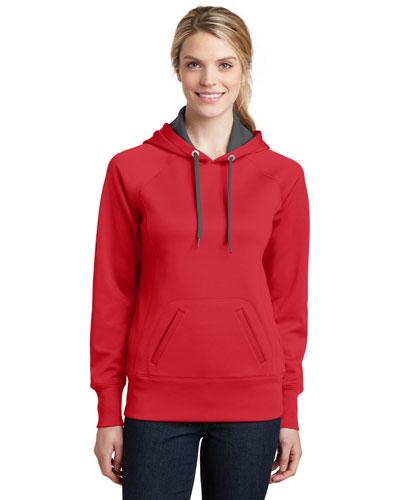Sport-Tek® LST250 Women Tech Fleece Hooded Sweatshirt at GotApparel