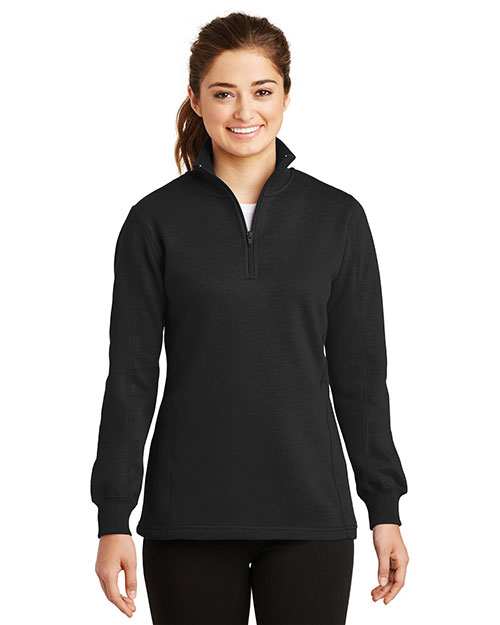 Sport-Tek® LST253 Women 1/4-Zip Sweatshirt at GotApparel