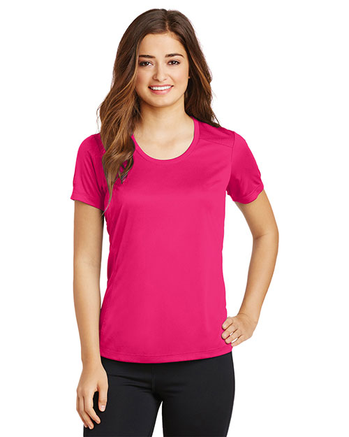 Sport-Tek® LST380 Women Posi-Charge Elevate Scoop Neck Tee at GotApparel