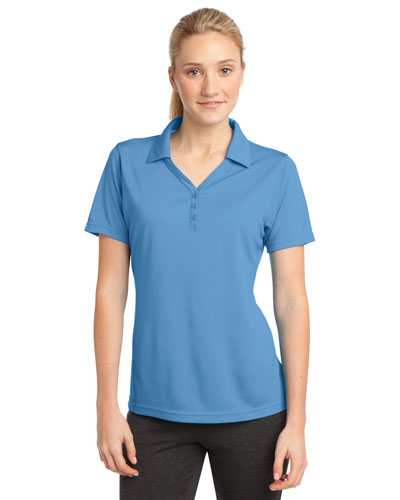 Sport-Tek® LST680 Women PosiCharge®  Micromesh Polo at GotApparel
