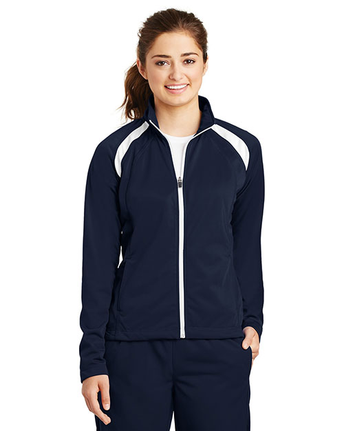 Sport-Tek® LST90 Women Tricot Track Jacket at GotApparel