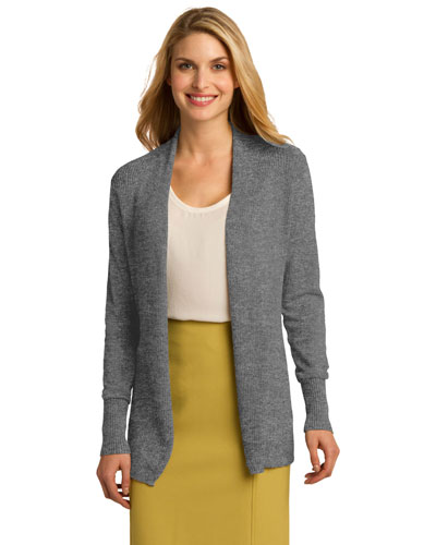 Port Authority LSW289 Women Open Front Cardigan at GotApparel