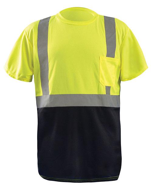 OccuNomix LUXSSET Men Classic Black Bottom T-Shirt at GotApparel