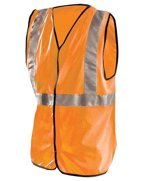 OccuNomix LUXSSG Men High Visibility Premium Flame Resistant Solid Vest at GotApparel