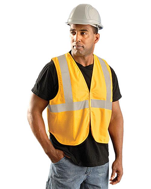 OccuNomix LUXXSGF Men Classic Flame Resistant Cotton Non-ANSI HRC 1 Solid Vest at GotApparel