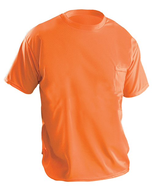 OccuNomix LUXXSSP Men Wicking Birdseye Non-Ansi T-Shirt at GotApparel