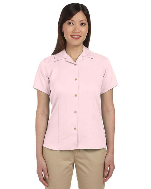 Harriton M570W Women Bahama Cord Camp Shirt at GotApparel