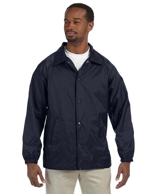 Harriton M775 Men Nylon Staff Jacket at GotApparel