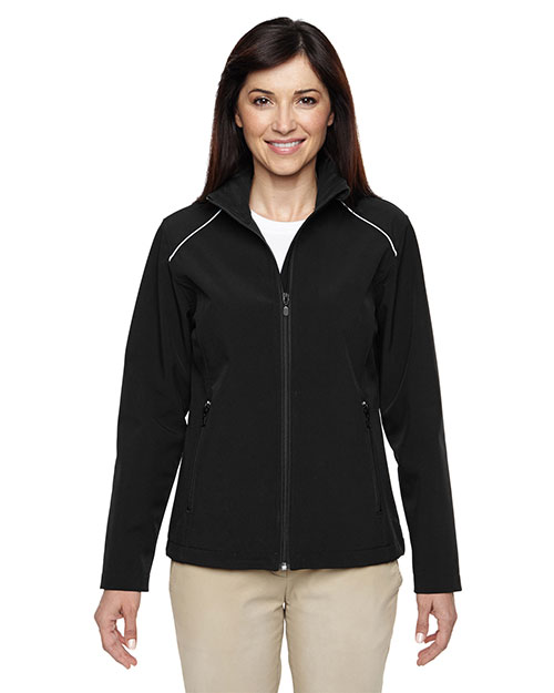Harriton M780W Women Echo Soft Shell Jacket at GotApparel
