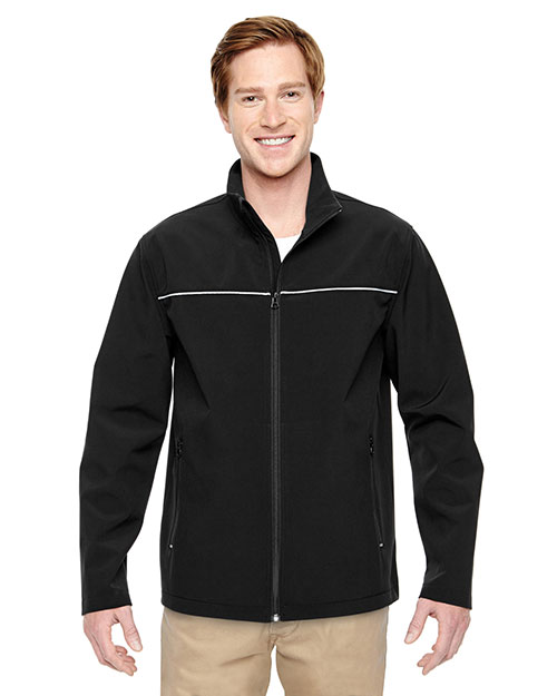 Harriton M780 Men North End Echo Soft Shell Jacket at GotApparel