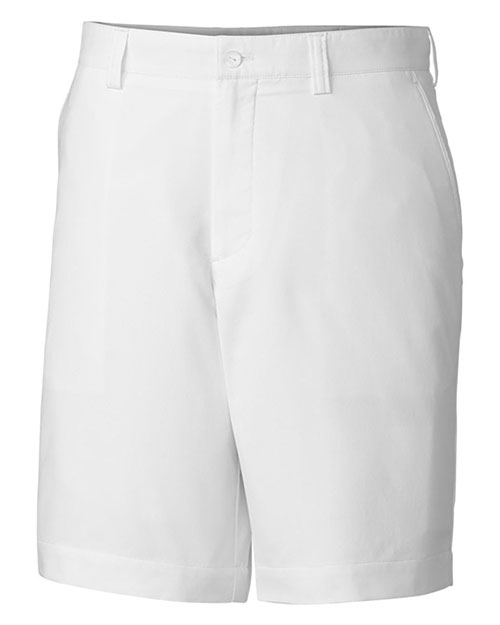 Cutter & Buck MCB00087 Men DryTec White Bainbridge FF Short at GotApparel
