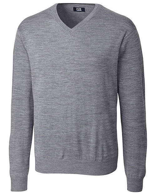 Cutter & Buck MCS01431 Men Douglas V-Neck Sweater at GotApparel