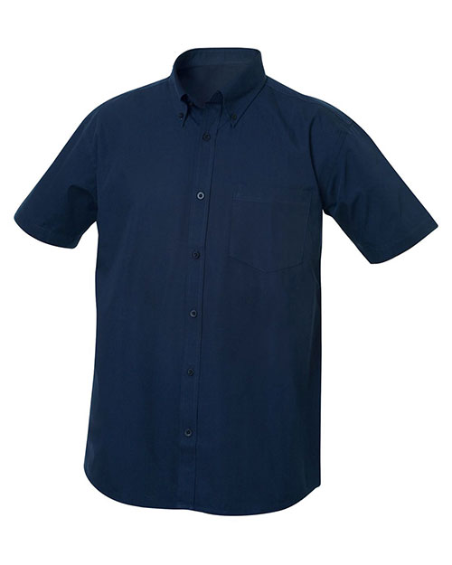 Clique New Wave MNW00004 Men Short-Sleeve Carter Twill at GotApparel